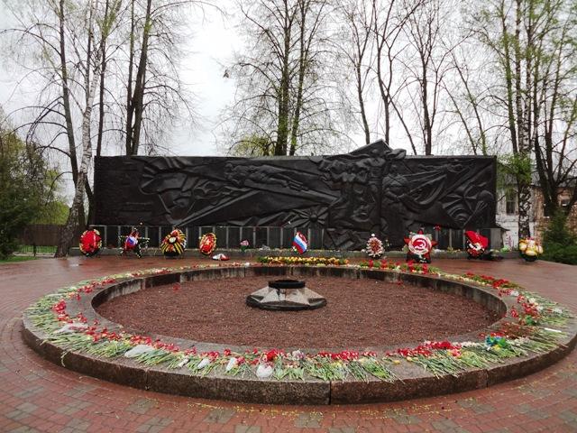 Валдай. Мемориал погибшим в годы войны