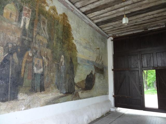остров Коневец, монастырь_фреска