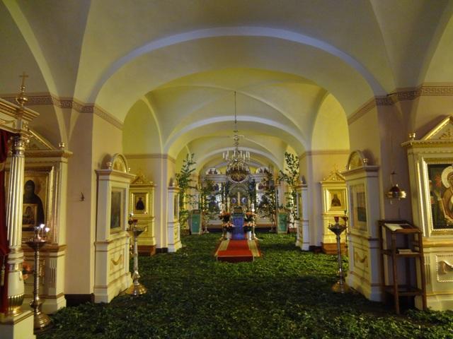 Остров Коневец_Собор Рождества Богородицы_Нижний храм