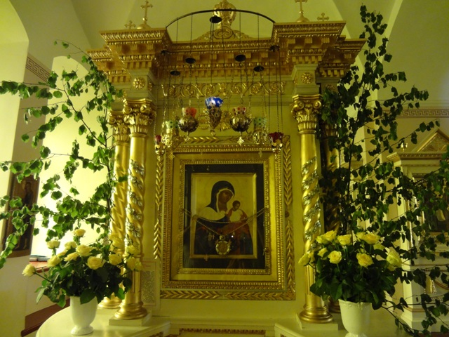Остров Коневец_Собор Рождества Богородицы_Икона Божьей матери