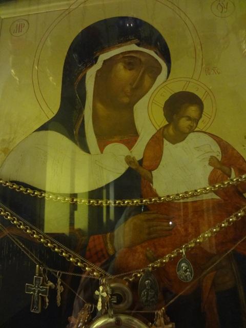 Икона Коневской Божьей Матери