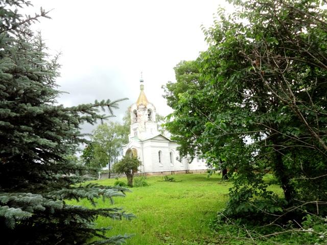 Троицкая церковь в Сенно