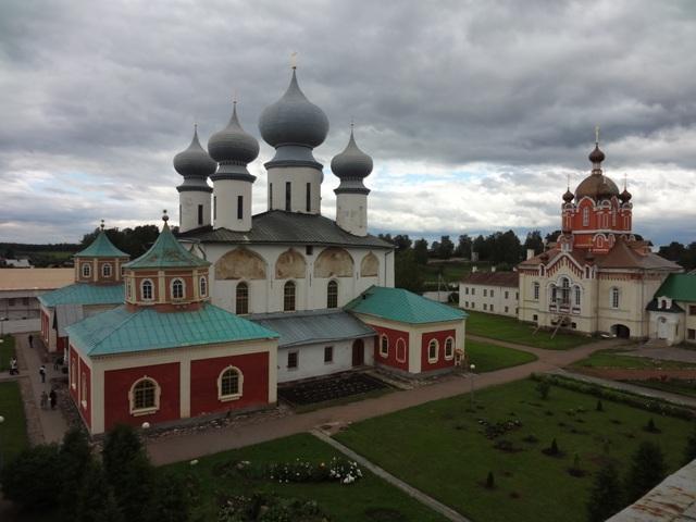 Тихвинский Богородичный Успенский монастырь. Вид со звонницы