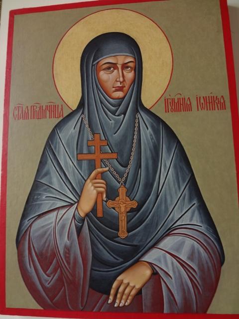 Тихвинский Введенский монастырь.  Игуменья Иоанникия