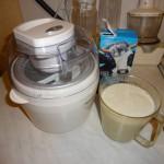 Домашнее банановое мороженое в мороженице Delimano