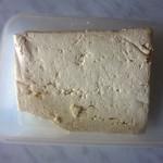 Салат с соевым сыром тофу